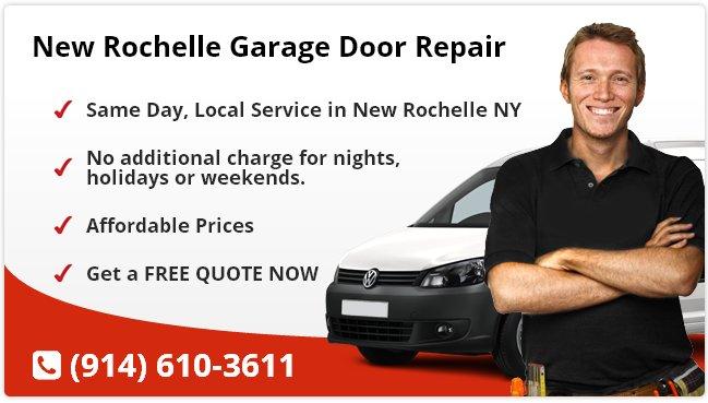 New Rochelle Garage Door Repair